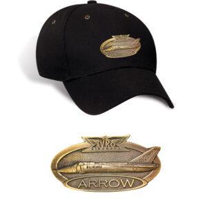 Avro Arrow Brass Cap – Black