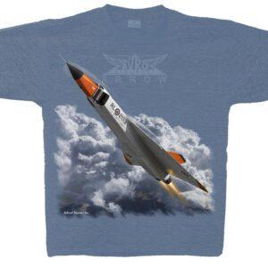 Avro Arrow T-shirt Indigo Blue